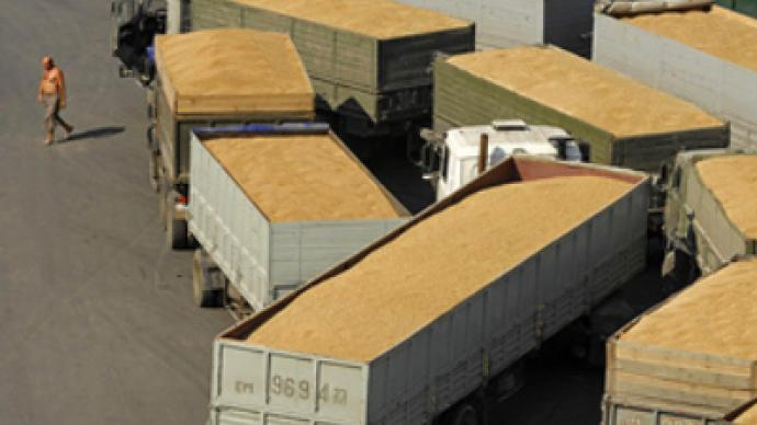 Russian government eases off on grain export