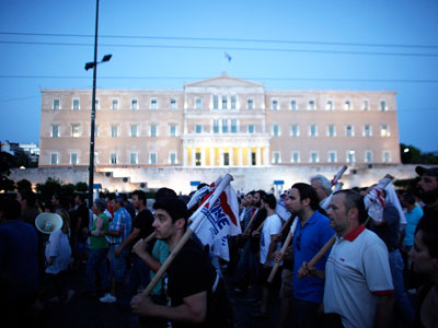 Islands in a sea of debt: Greece considers lease of isles to curb crisis