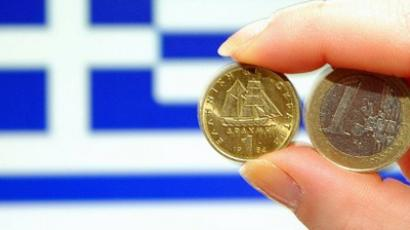 Greek stampede for savings amid euro exit fears