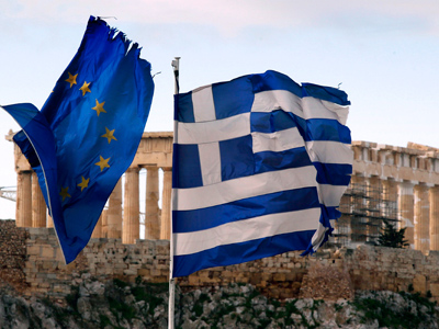 Trillion euro price tag for Greek default