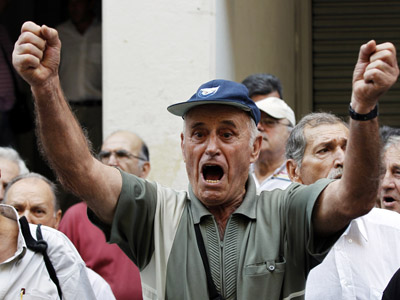 Big fat Greek strike: MPs and govt say no escaping austerity