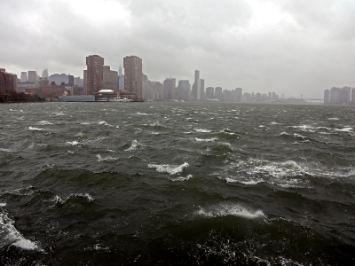 Authorities start anti-looting campaign in the aftermath of Sandy