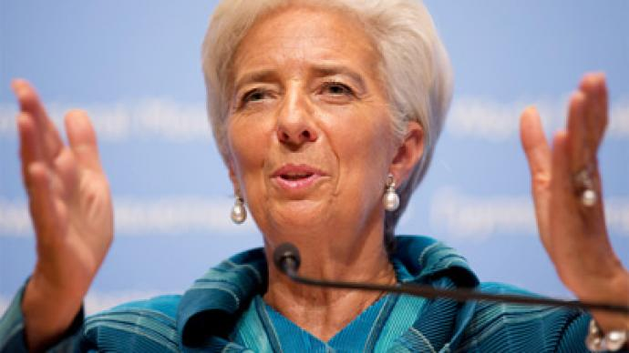 The IMF urges action to tackle crisis, advocates more time for austerity to work