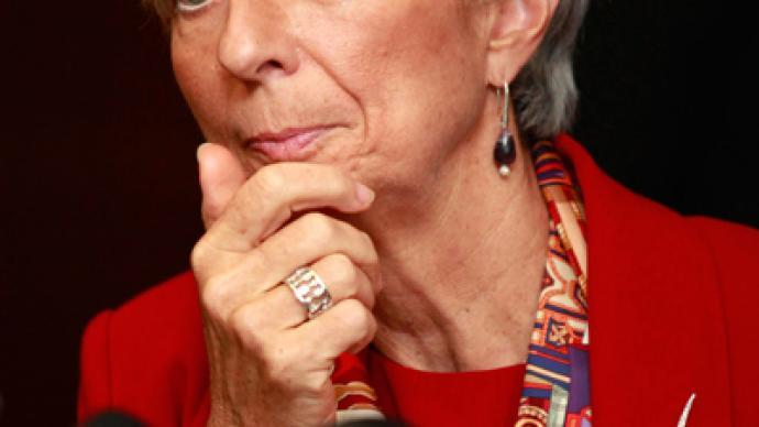 A Lagarde comme a lagarde: IMF head on defensive over Greece