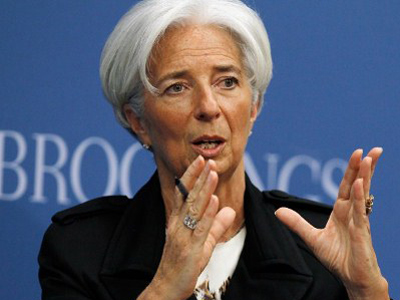IMF's Managing Director: Every little helps