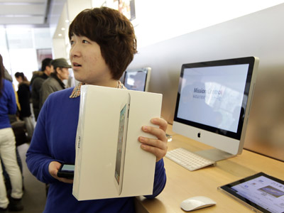 iPad name battle goes up a gear