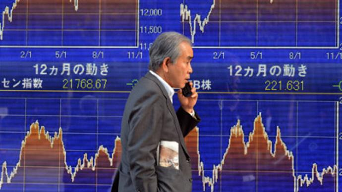 Japan in doldrums as export shrinks