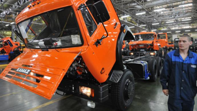 Russia's Kamaz to spend $2bn on new models