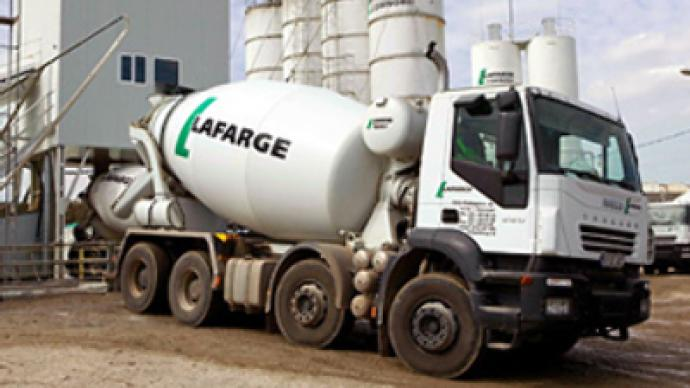 Lafarge pours foundations for Russian cement expansion