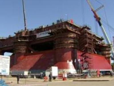 Lukoil to build one of the biggest oil rigs in Russia