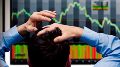 Russian stocks down on EU bailout blues, focus on QE3