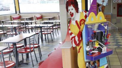 McDonald's to employees: Break your food in small pieces to feel full
