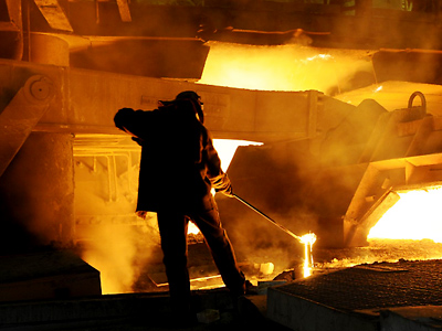 Russian steel bent by Iranian sanctions