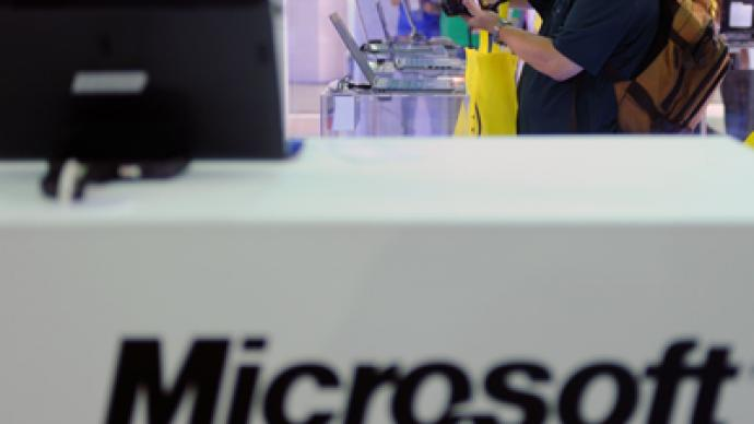 Microsoft reports first quarterly loss