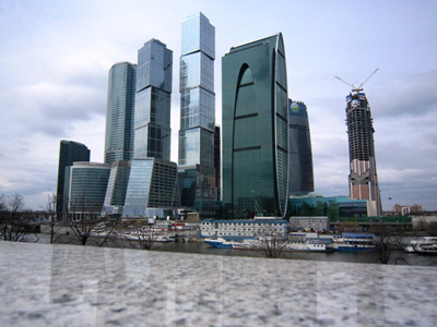 Moscow City sell-off