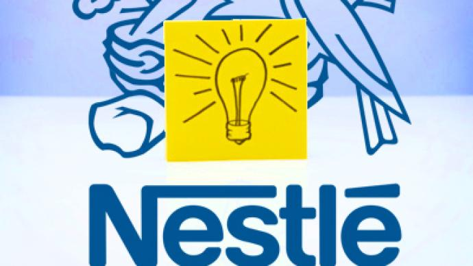Customer understanding the innovation as Nestlé marks the Russian long haul