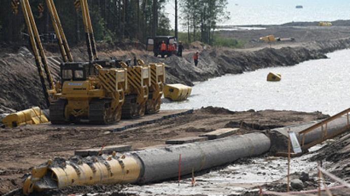 Nord Stream to commence next month