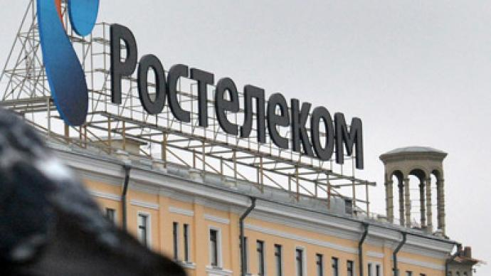 Police searched homes of Rostelecom chief executives