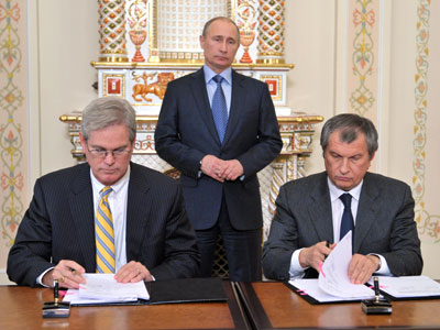Rosneft gets access to $100bn gas and oil field in Alaska