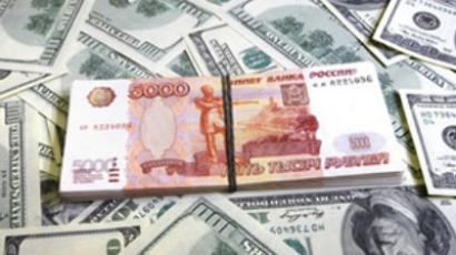 Rouble strength ringing alarm bells
