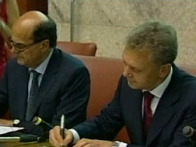 Russia & Italy sign pipeline accord