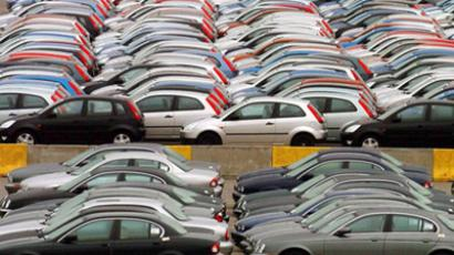 Russian car market deflates after being pumped up