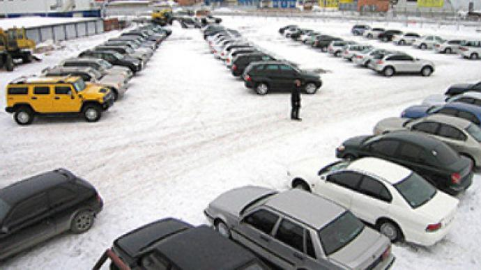 Car sales slump rolls through into 2010