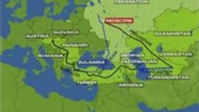 Russia competes for gas routes