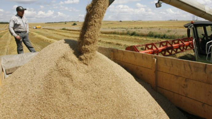 Russian authorities open granaries to boost export