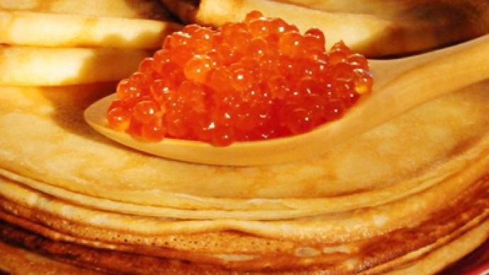 Blini with caviar from Russia's Teremok rated a global fast food delight