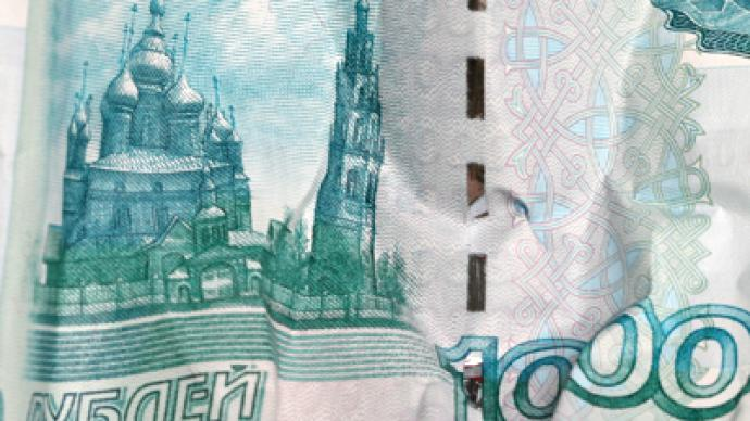 Russian government debt takes hit