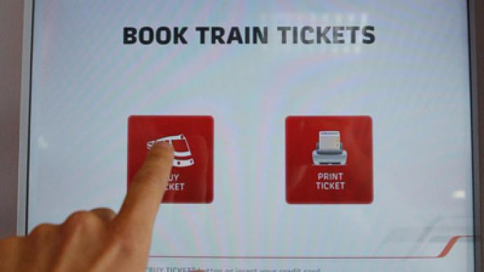 Standstill: Russian railways stop ticket sales in case clocks change