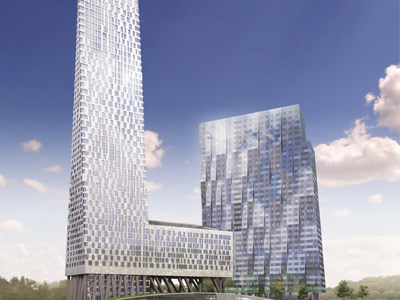 Life on top: Nearly toppled Moscow penthouse on sale for $43 million