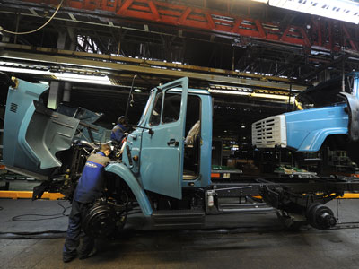 China to launch trucks assembling line at Russia's ZIL plant