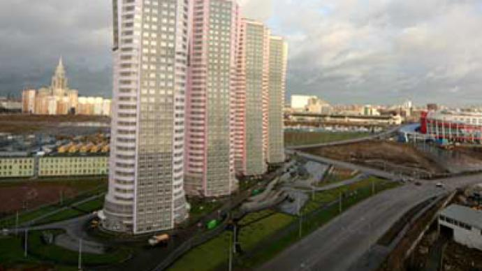 Soft real estate market has firm spot with Moscow border changes