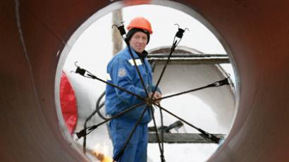 Nord Stream edges closer with completion of first section