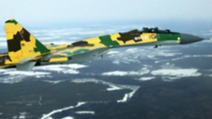 Sukhoi shows off its new super agile fighter