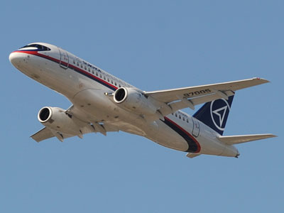 Russia's aviation flagship project the Sukhoi Superjet on the brink of default