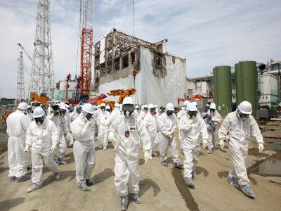 Rise of the machines: Hitachi joins robot race to dismantle Fukushima ruins