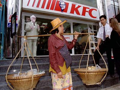 Thai KFC apologizes after quake ads