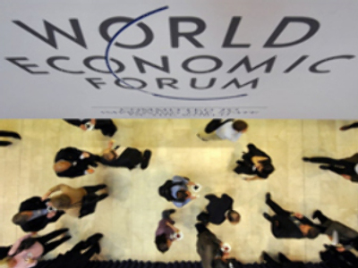 Fears of recession hang over Davos