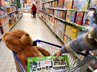 Toy trouble: Toymakers fear Xmas sales drop as kids opt for high-tech gadgets