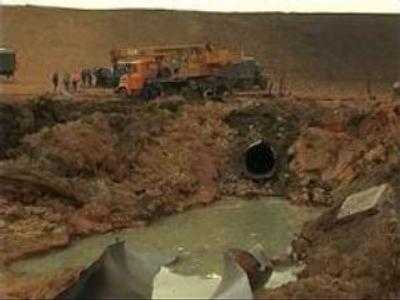 Ukrainian gas pipeline on full capacity