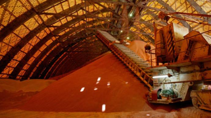 Potash producer Uralkali reported 41% revenue growth after successful merger