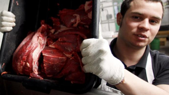 US demands Russia 'immediately' lift meat ban