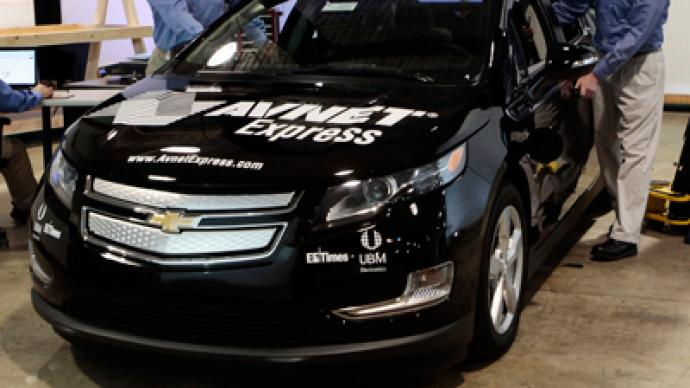 GM contradicts reports Volt is money-loser