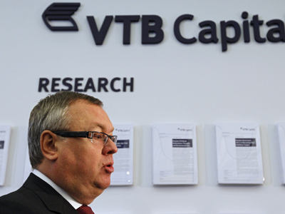 VTB head: more action in Davos 2012