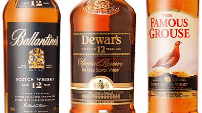 Whisky vs Vodka: Scottish drink grabs bigger portion of Russian market