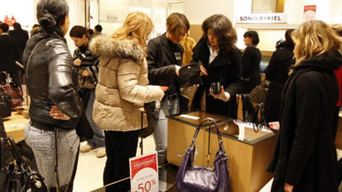 Russians ranked number 2 in retail spending around the world