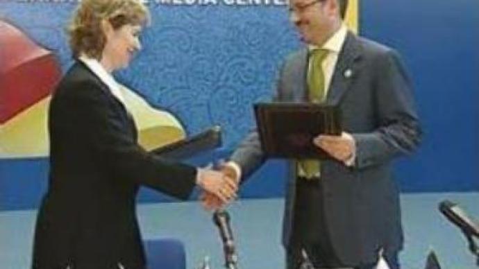 WTO: Russia-U.S.sign protocol